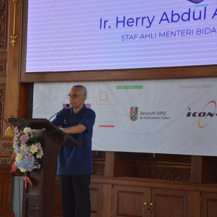 Luncurkan Aplikasi Tuban Smart City